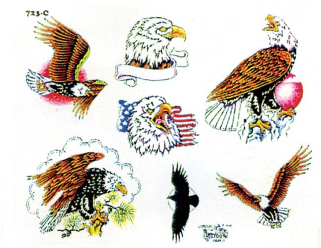 Тату орел: значение для мужчин, эскизы и фото