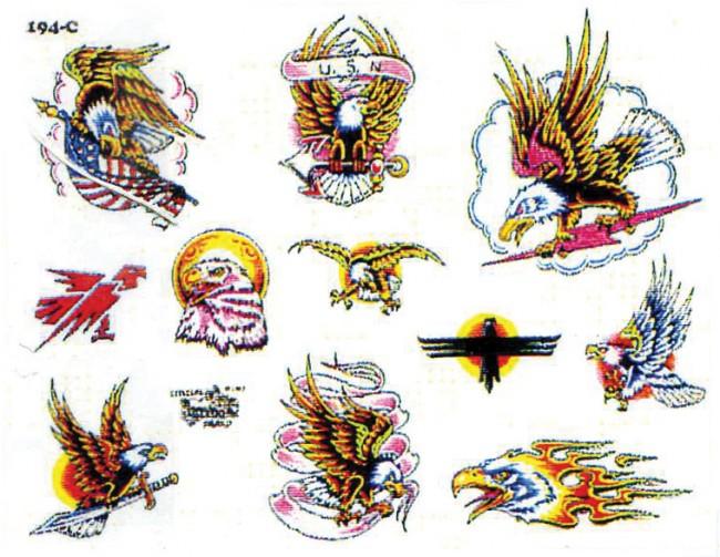 Легкие эскизы тату совы