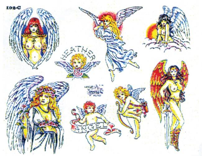 Татуировки ангелов