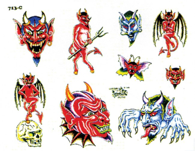 Татуировки с изображением ангела и