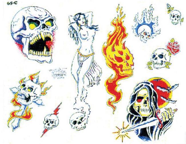 Татуировки дьявола