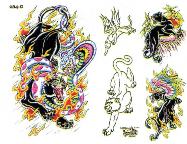Эскизы тату цветы и обозначения