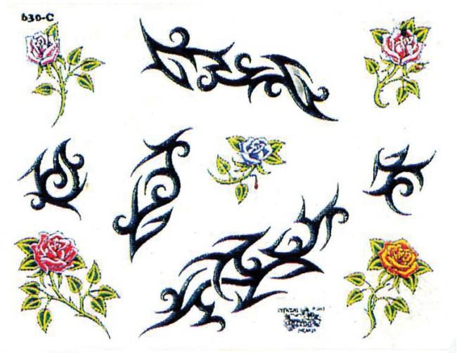 Татуировки подсолнухов