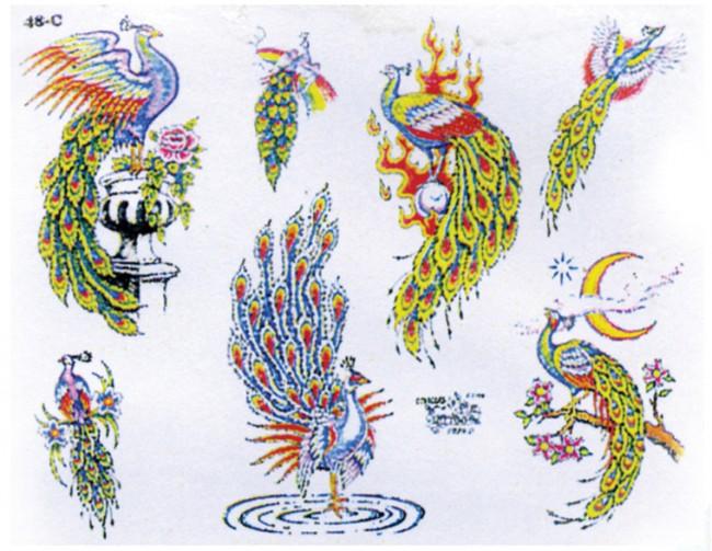 Татуировка птицы значение