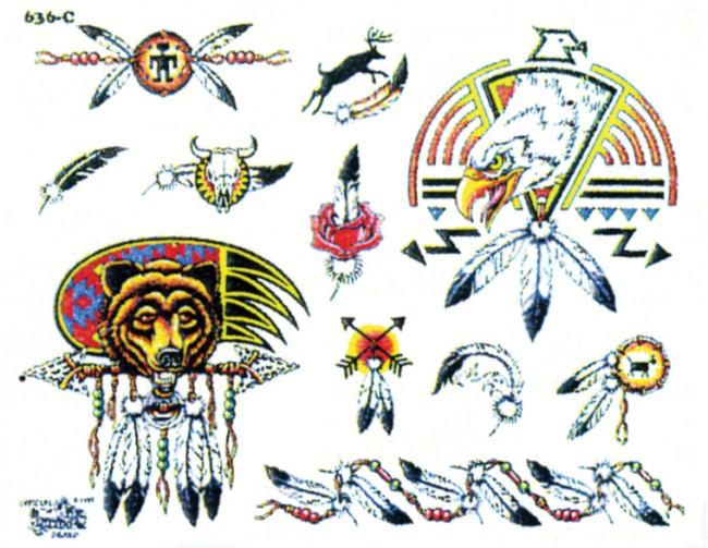 Татуировки индейцев северной америки с названиями 18