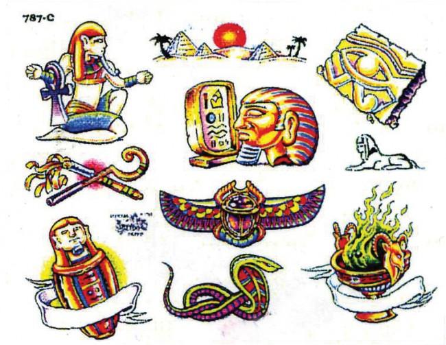 Татуировки про египет
