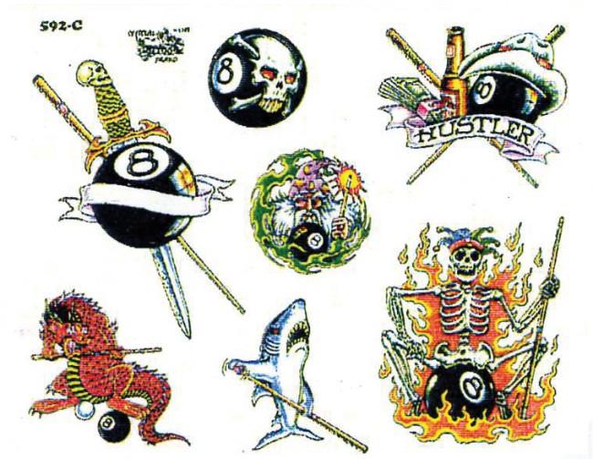 Татуировки бильярд