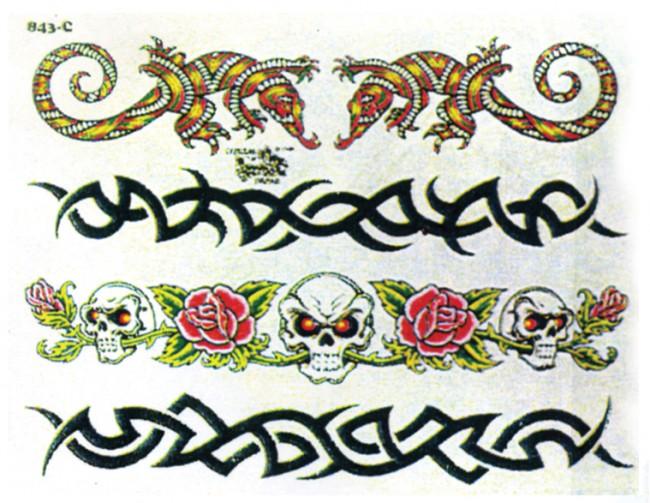 Кельтские татуировки браслетов