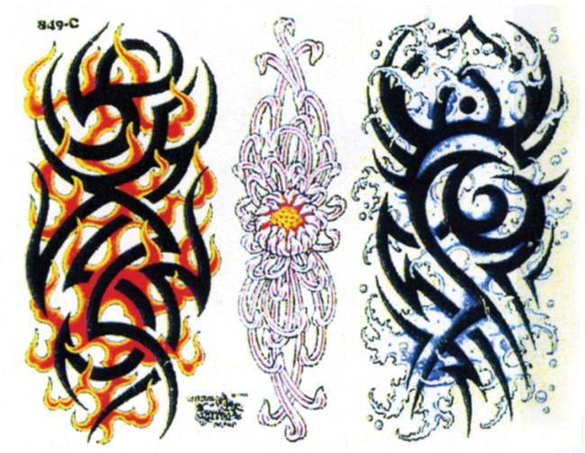 Татуировки трайблы кельтские