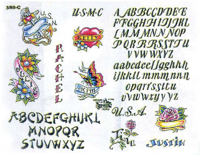 эскизы тату надписи
