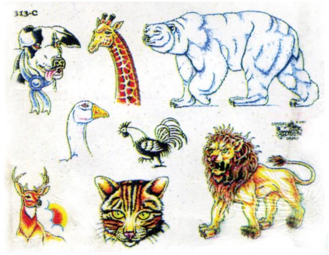 картинки тату животных